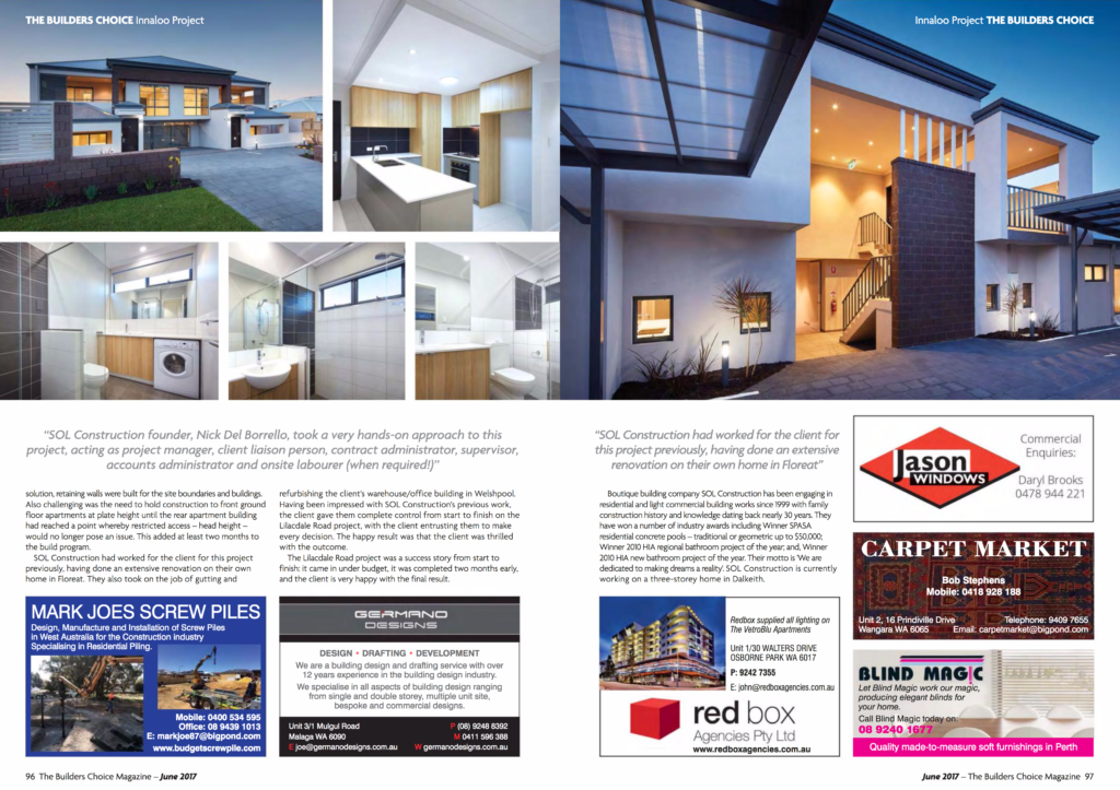 BuildersChoice Magazine Editorial Page2