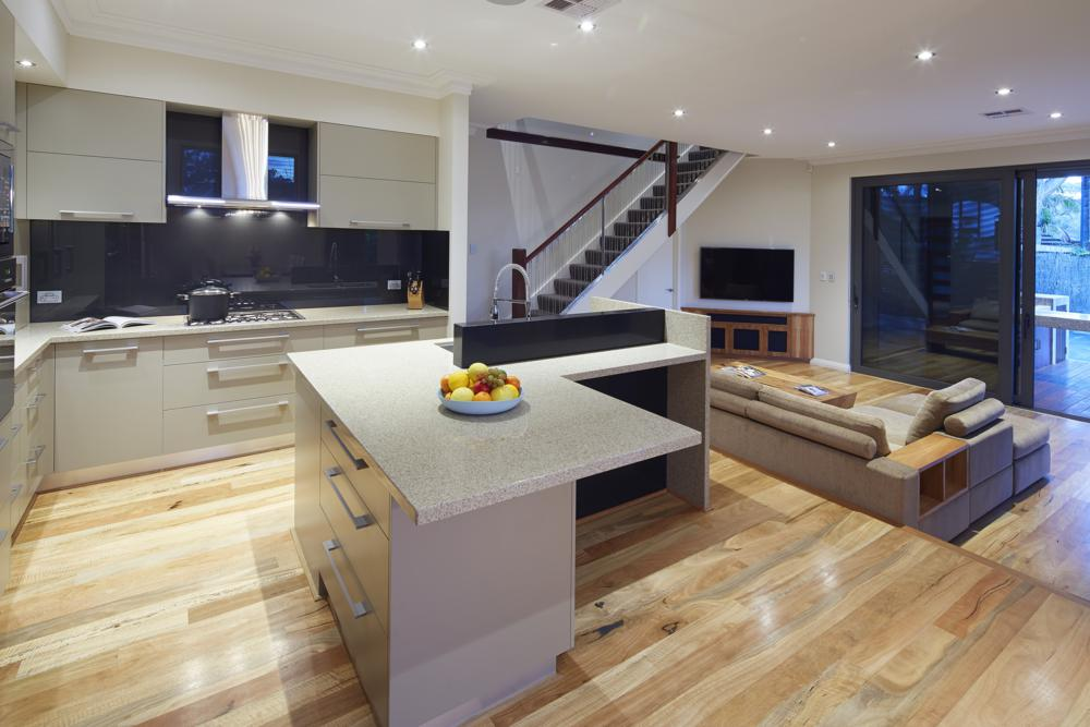 our home renovations include stylish kitchens such as this one in floreat near perth