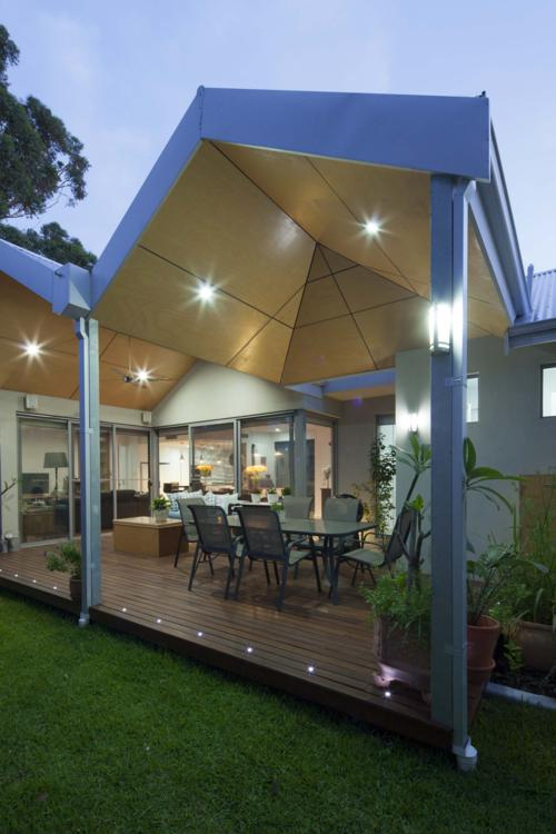 this boutique home in west leederville boasts garden and entertainment spaces.